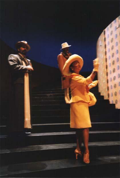 Oper Le Balcon Buenaventura Braunstein performing